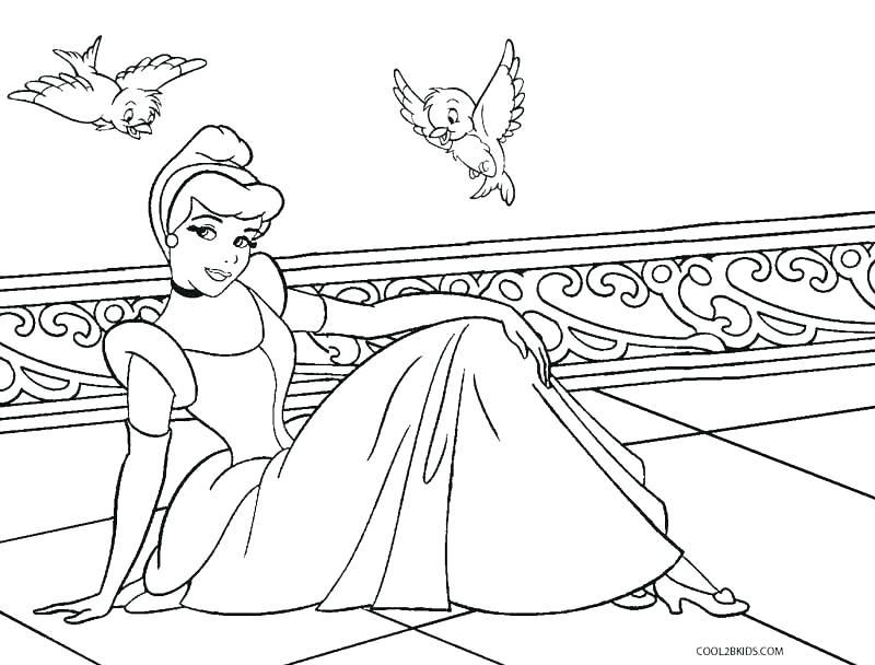 800x608 Ariel Coloring Pages Online