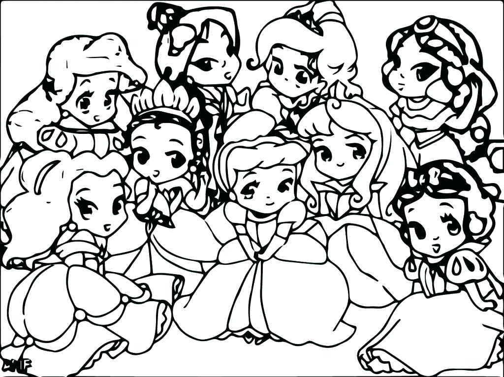 1024x766 Baby Disney Princess Coloring Pages Princess Coloring Pages Games