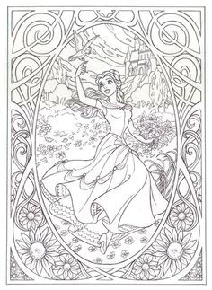 Disney Art Coloring Pages