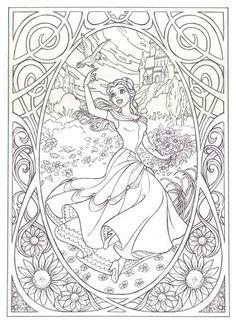 Disney Art Coloring Pages