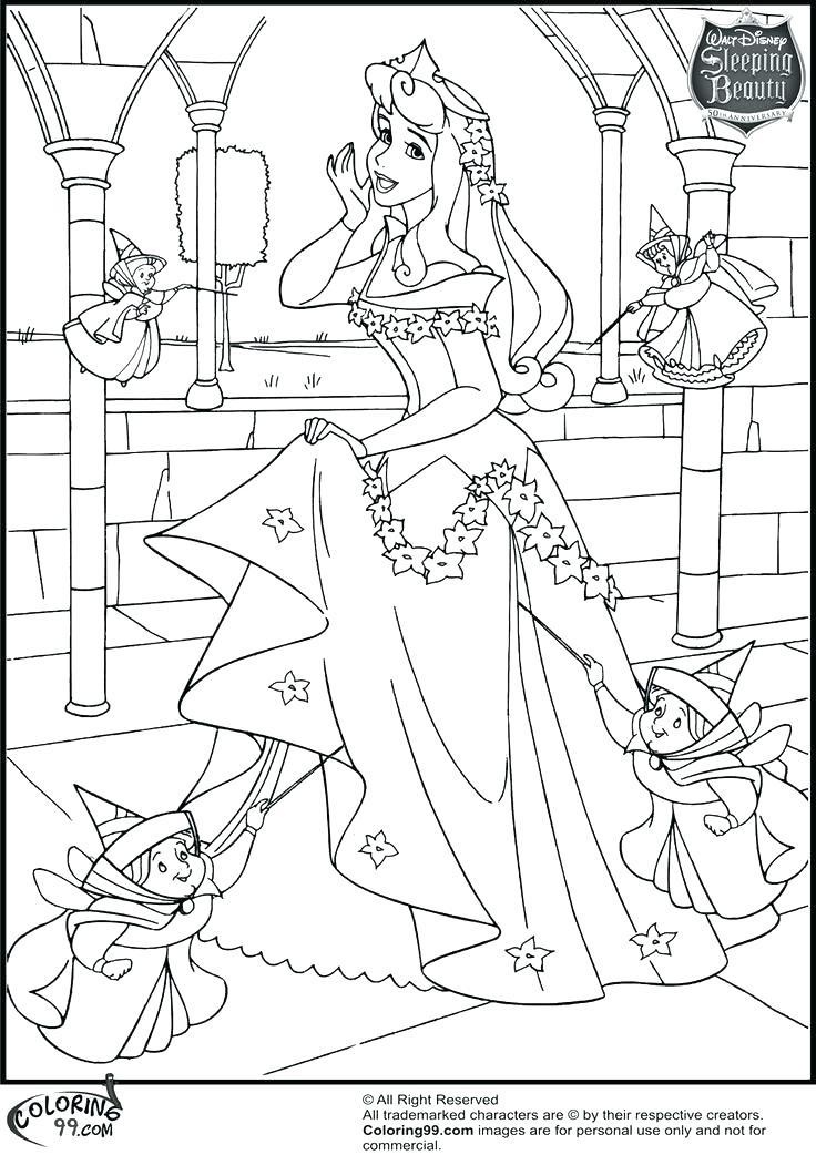 736x1051 Princess Aurora Coloring Page Disney Princess Aurora Colouring