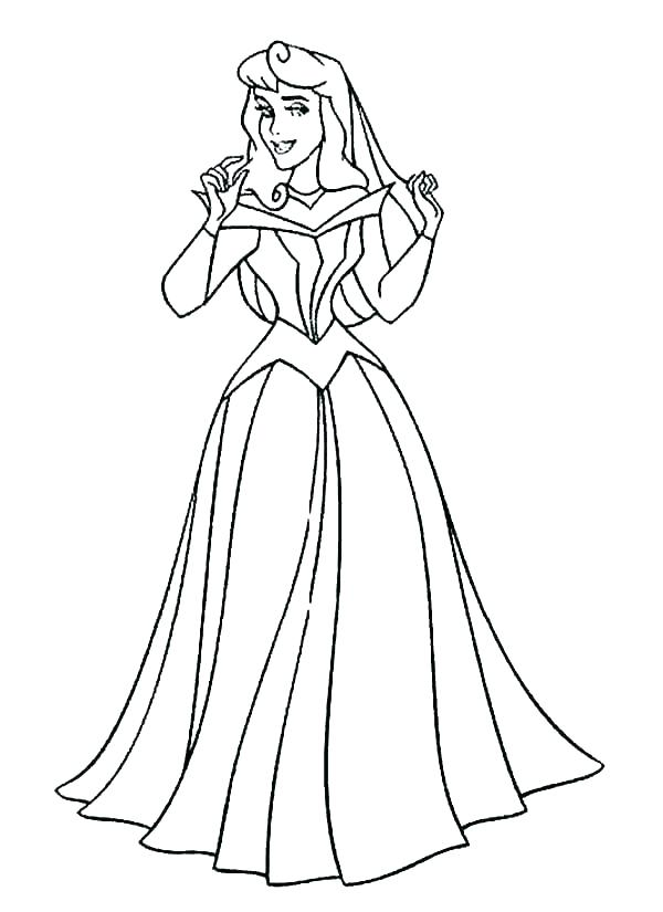600x825 Princess Aurora Coloring Page Princess Aurora Photo Coloring Page