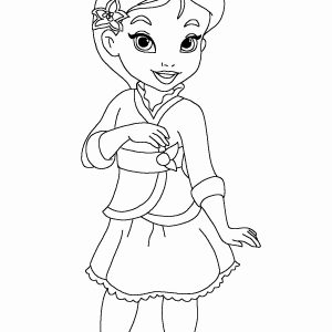 Disney Baby Princess Coloring Pages At Getdrawings Com Free For