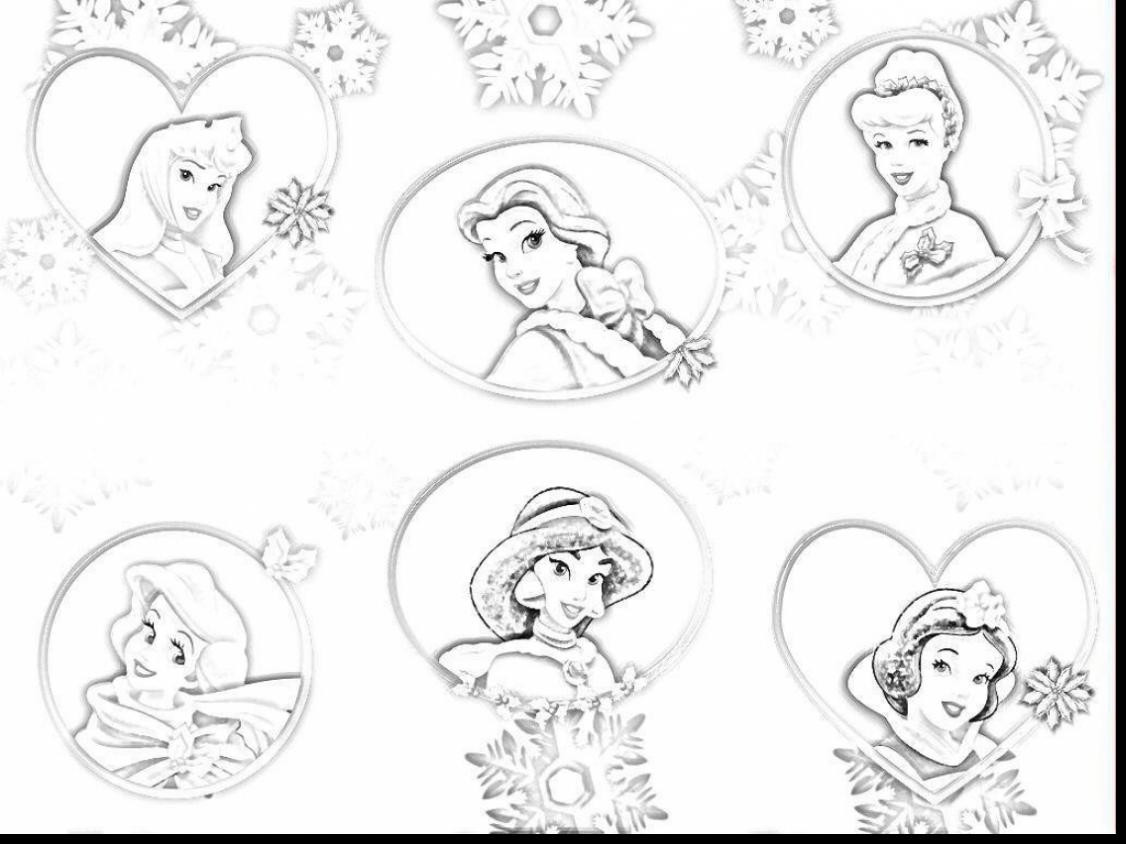 1126x844 Disney Baby Princess Coloring Pages Best All