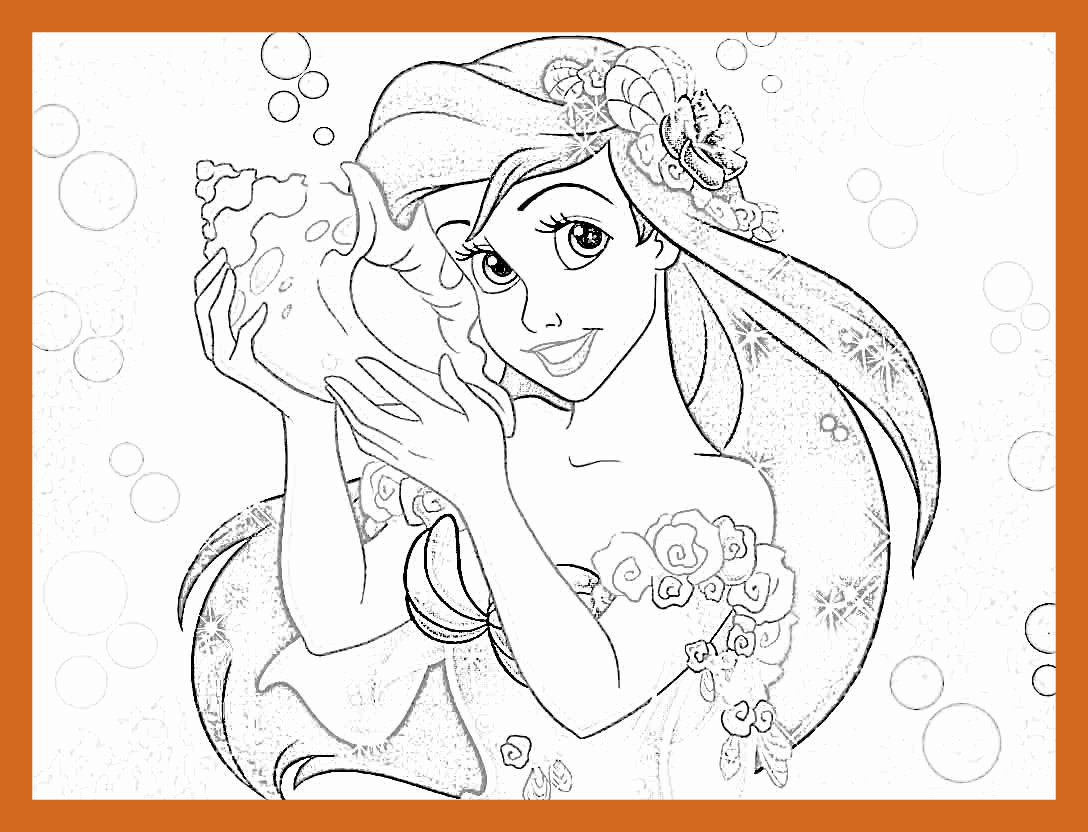 1088x832 Astonishing Baby Princess Coloring Pages Printable Pic Of Disney