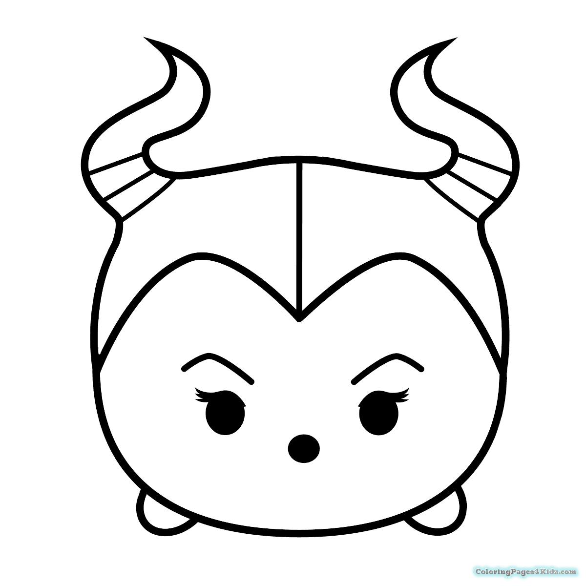 1200x1200 Disney Tsum Tsum Mickey Coloring Pages Black And White Coloring
