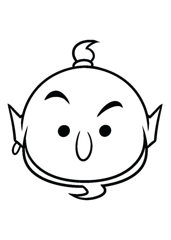 565x792 Tsum Tsum Coloring Pages