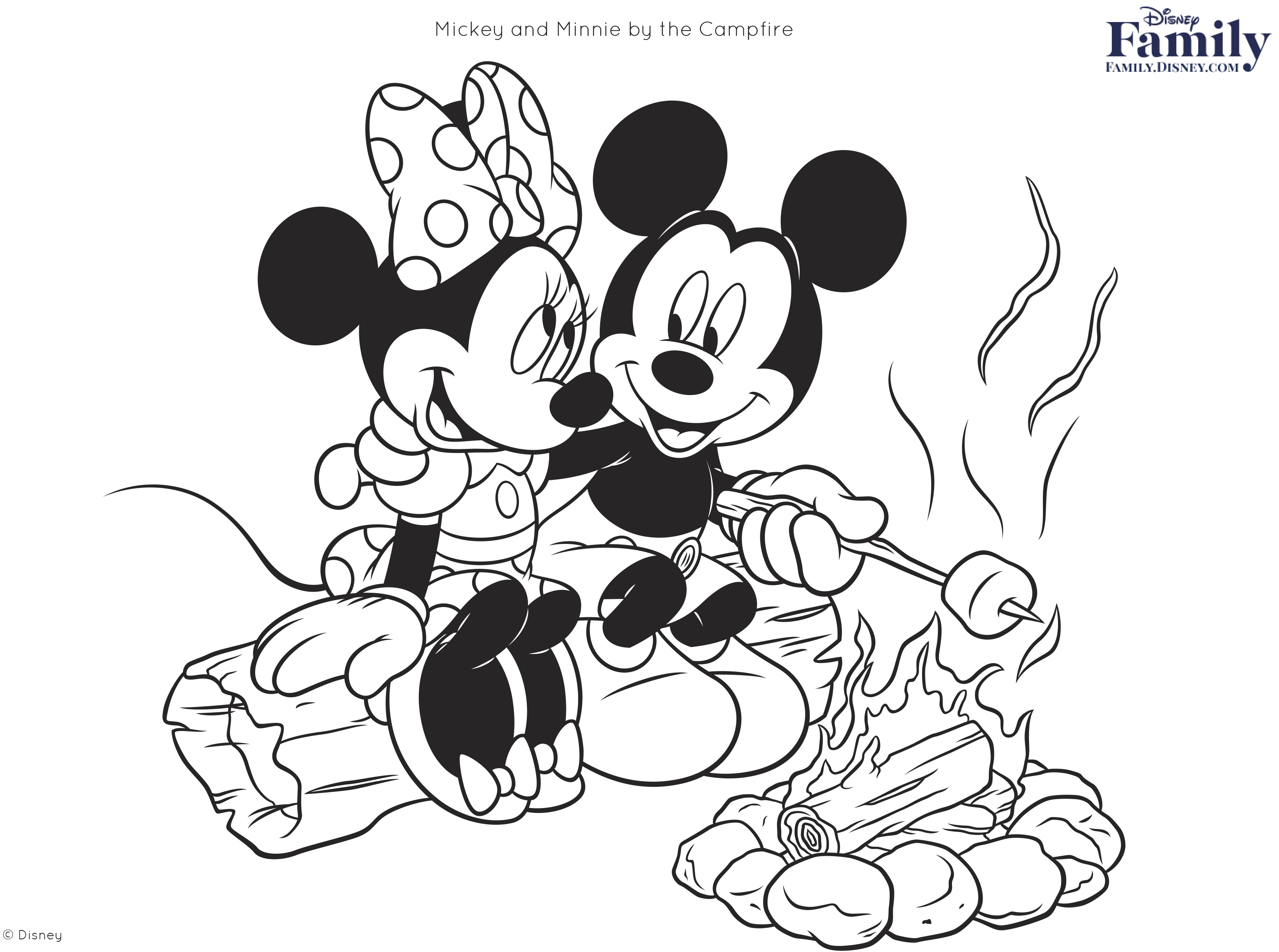 3137x2335 Disney Coloring Pages Disney Family