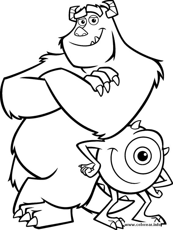 Disney Boy Coloring Pages