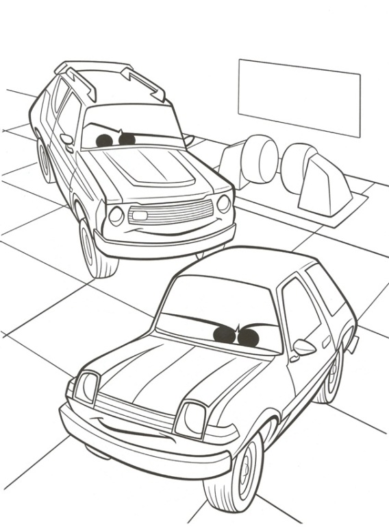 Disney Cars Coloring Pages For Kids At Getdrawings Com Free For
