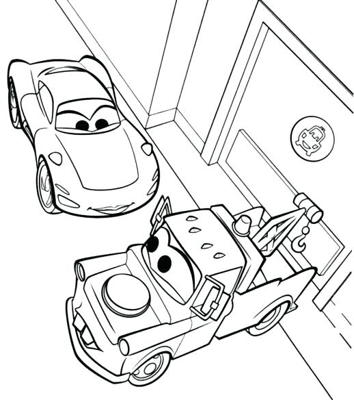 518x584 Mater Coloring Pages Cars Holly Mater Coloring Pages Disney Cars