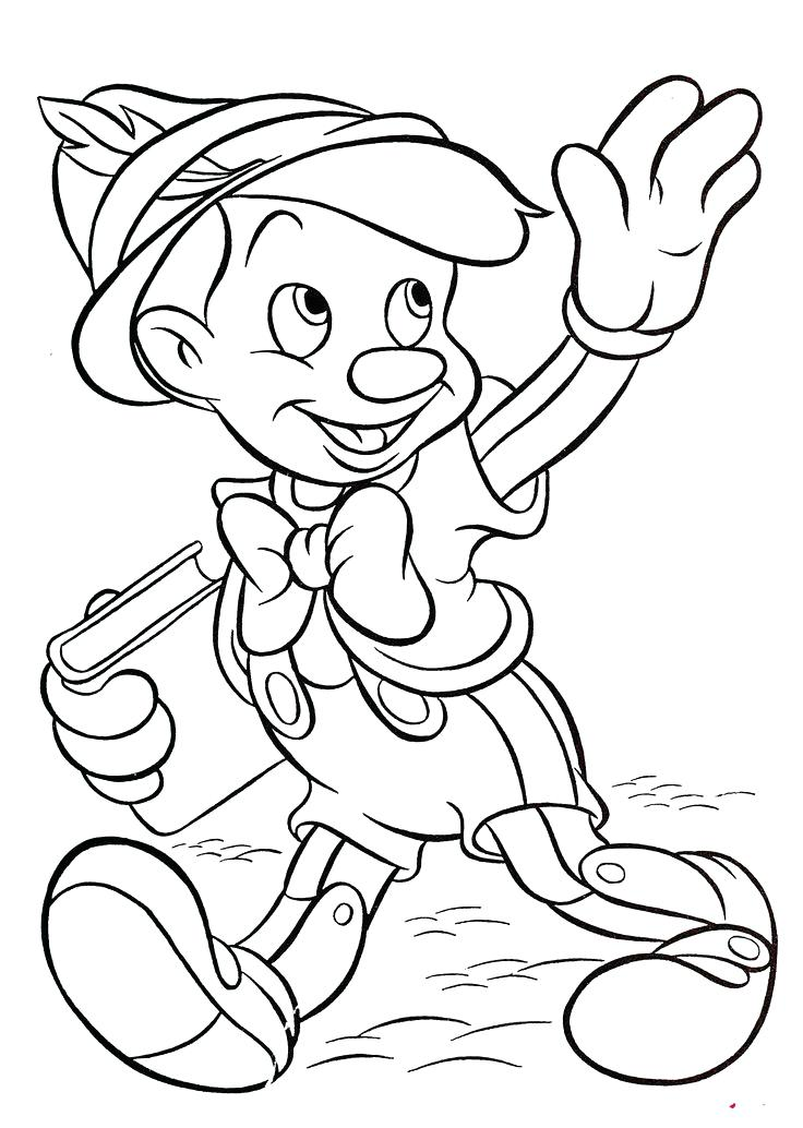 736x1034 Disney Character Coloring Pages Character Coloring Pages Cute Baby
