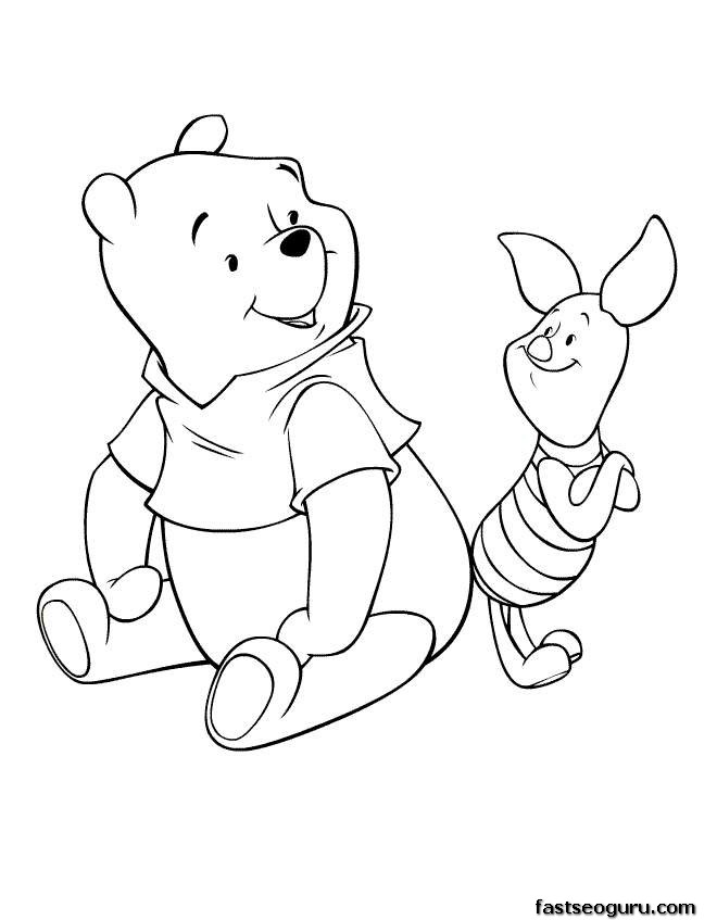 Disney Cartoon Characters Coloring Pages At Getdrawings Com Free