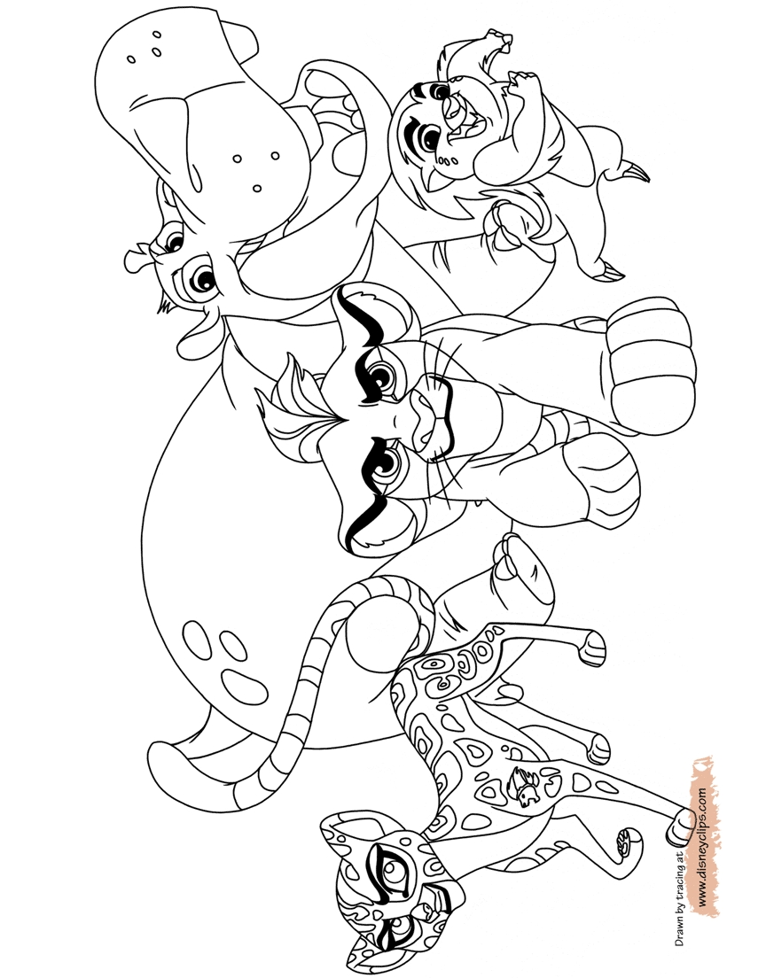 864x1104 Lion Guard Coloring Pages Collections Free Coloring Pages