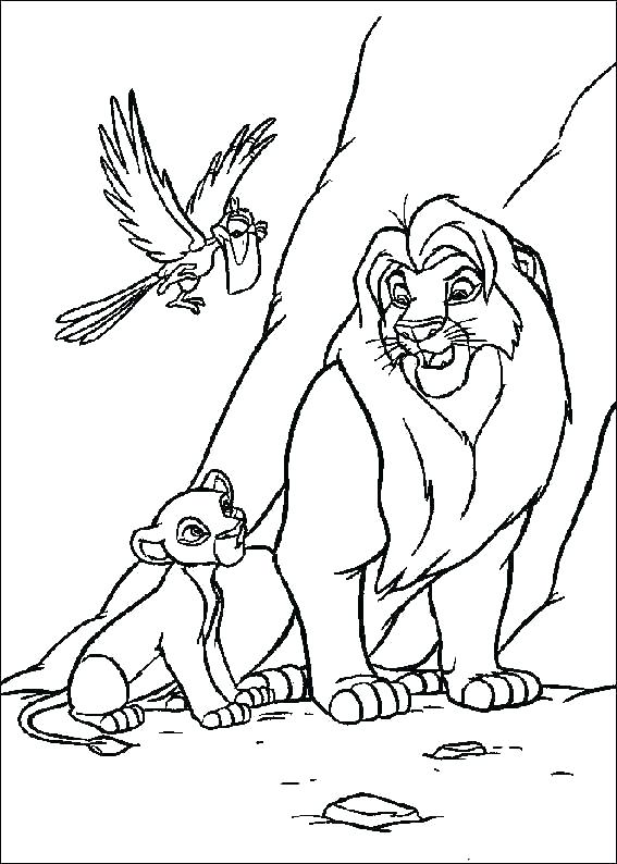 567x794 Disney Color Pages Coloring Pages Lion King Lion King Coloring