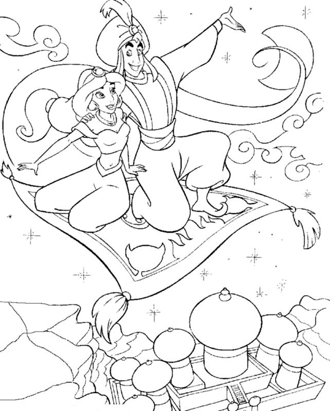 642x800 Aladdin And Jasmine Aladdin