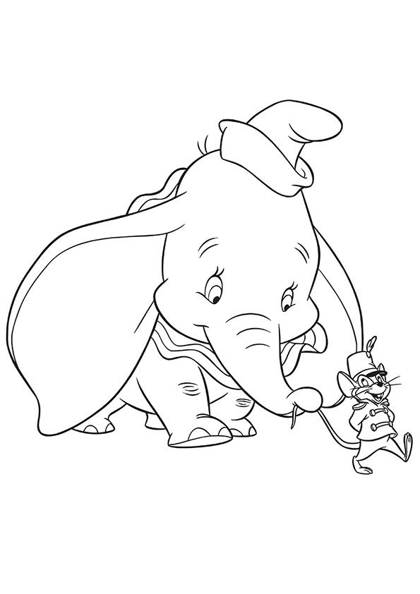 595x842 Dumbo Disney Coloring Page Dumbo Disney Coloring Pages