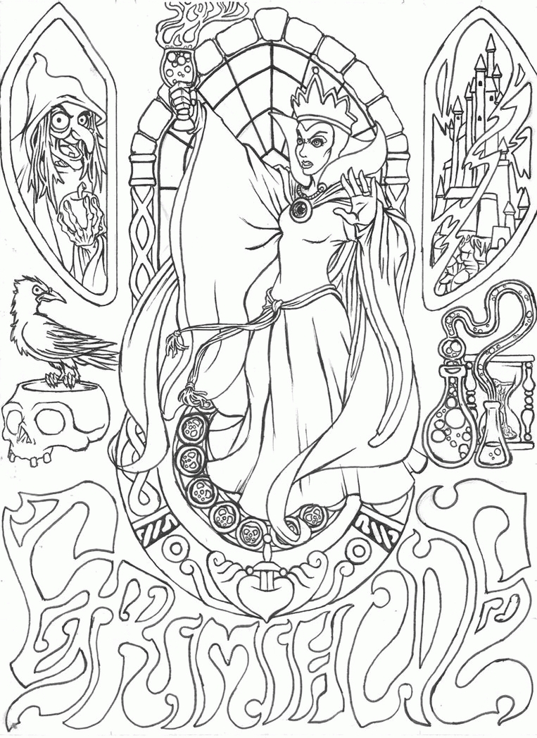 763x1047 Awesome Disney Coloring Pages For Adults Pages Gallery Printable