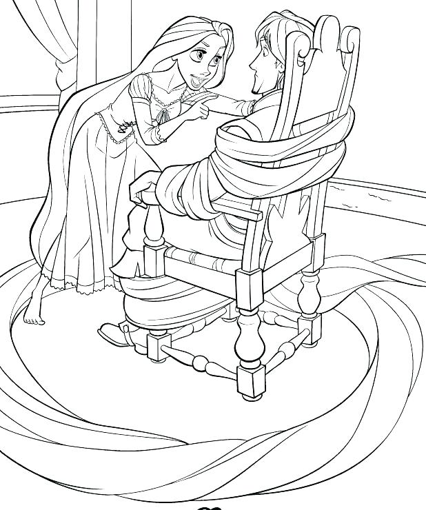 618x740 Baby Disney Princess Coloring Pages