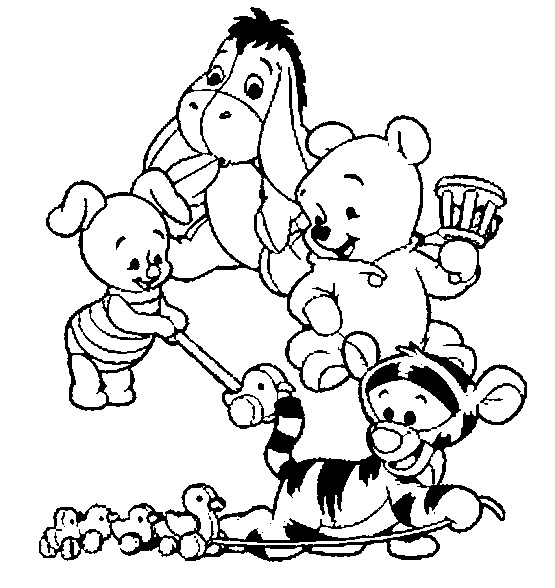 555x588 Disney Coloring Pages To Color