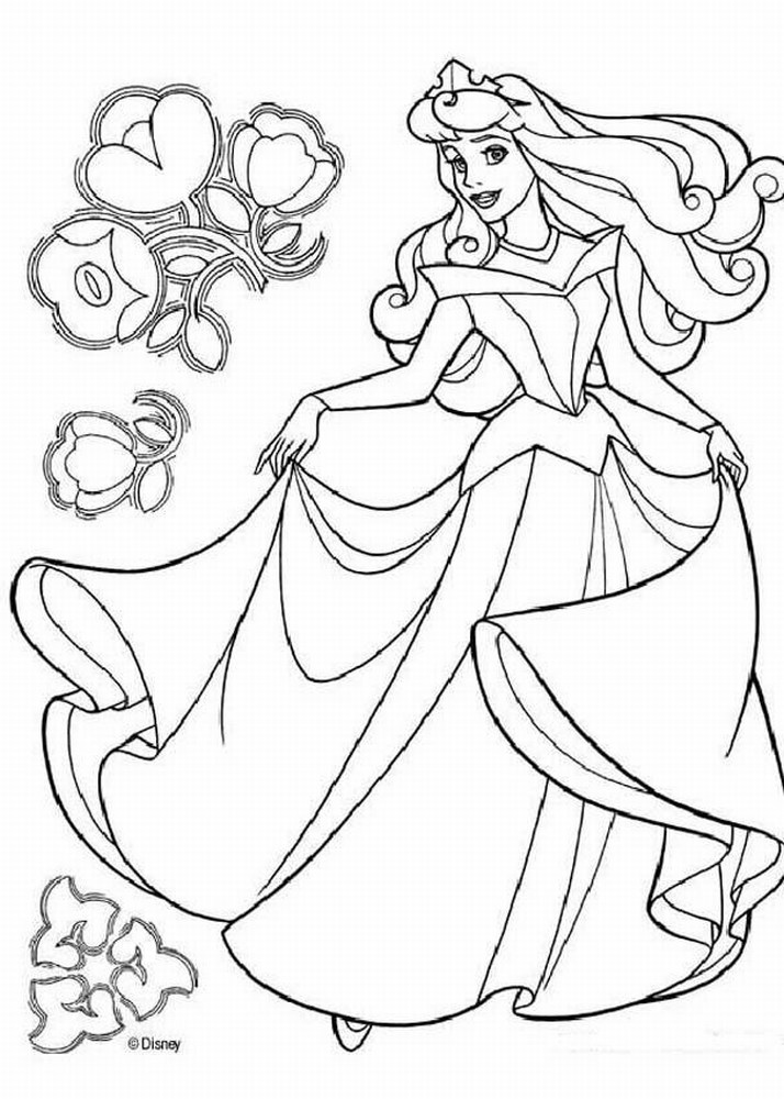 714x1000 Free Printable Disney Princess Coloring Pages For Kids