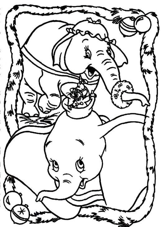 518x730 Timothy Dumbo And Mommy Jumbo Celebrating Christmas Disney