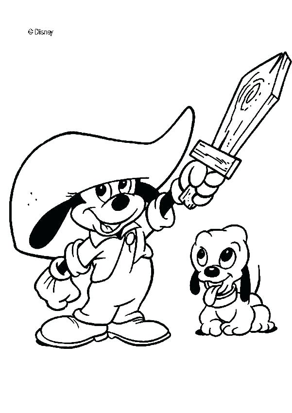 601x850 Free Disney Coloring Pages Toddler Mickey Mouse Coloring Page