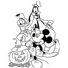 Disney Coloring Pages For Toddlers At Getdrawingscom Free For