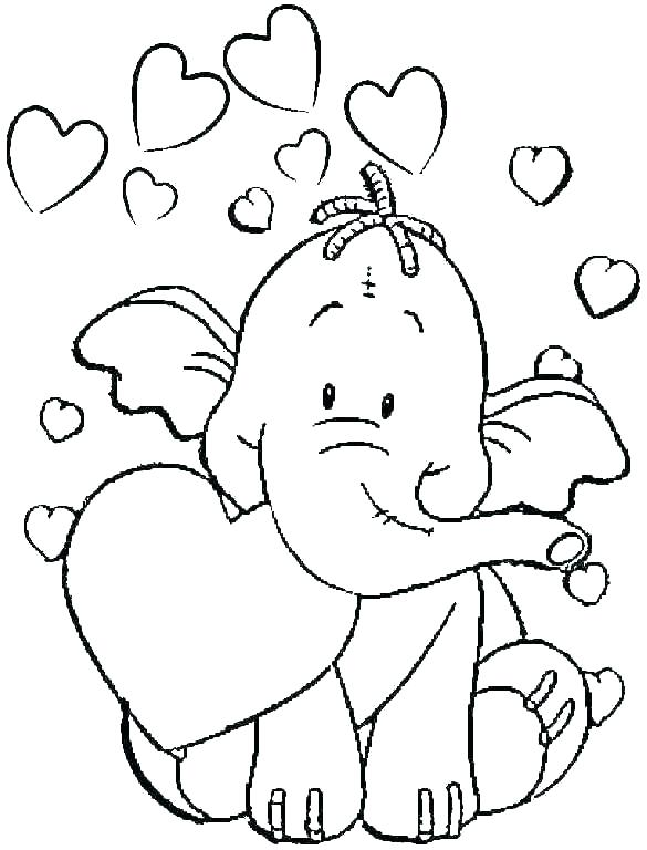 585x768 Halloween Coloring Pages For Toddlers