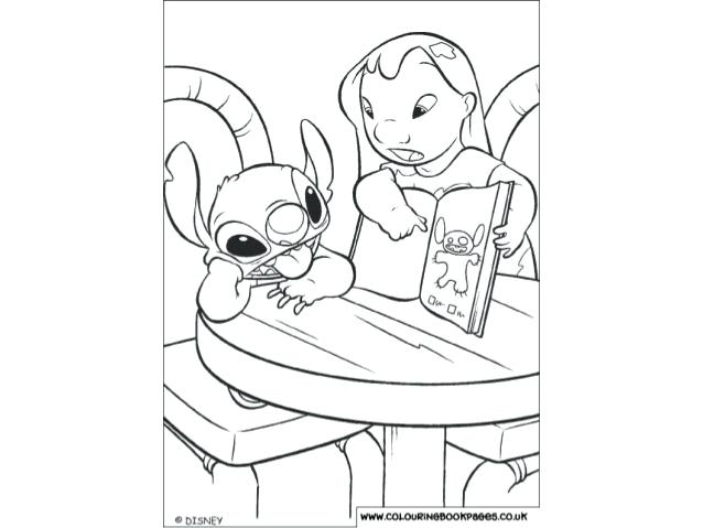 disney coloring pages lilo and stitch 11