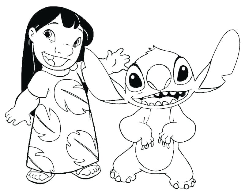 800x629 Stitch Coloring Pages Lilo And Stitch Colouring Pages Cute Stitch