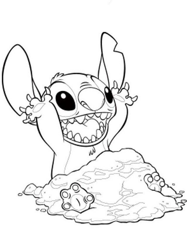 640x860 Desenhos Para Colorir Lilo E Stitch Lilo E Stitch