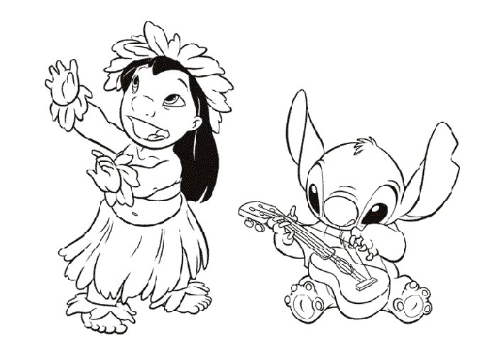 Disney Coloring Pages Lilo And Stitch At Getdrawings Com Free For