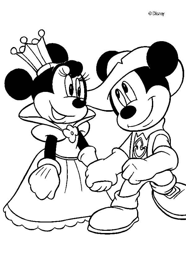 601x850 Mickey Mouse Clubhouse Coloring Pages