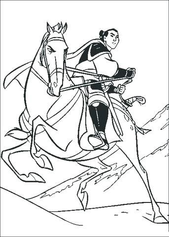 343x480 Disney Mulan Coloring Pages Coloring Pages Disney Mulan