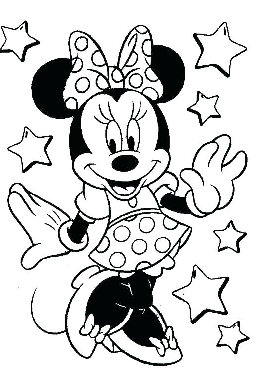 Disney Coloring Pages Online At GetDrawings Free Download