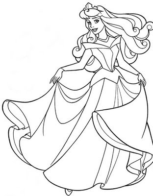 312x400 Free Coloring Pages Etyho Sleeping Beauty Disney Coloring Pages