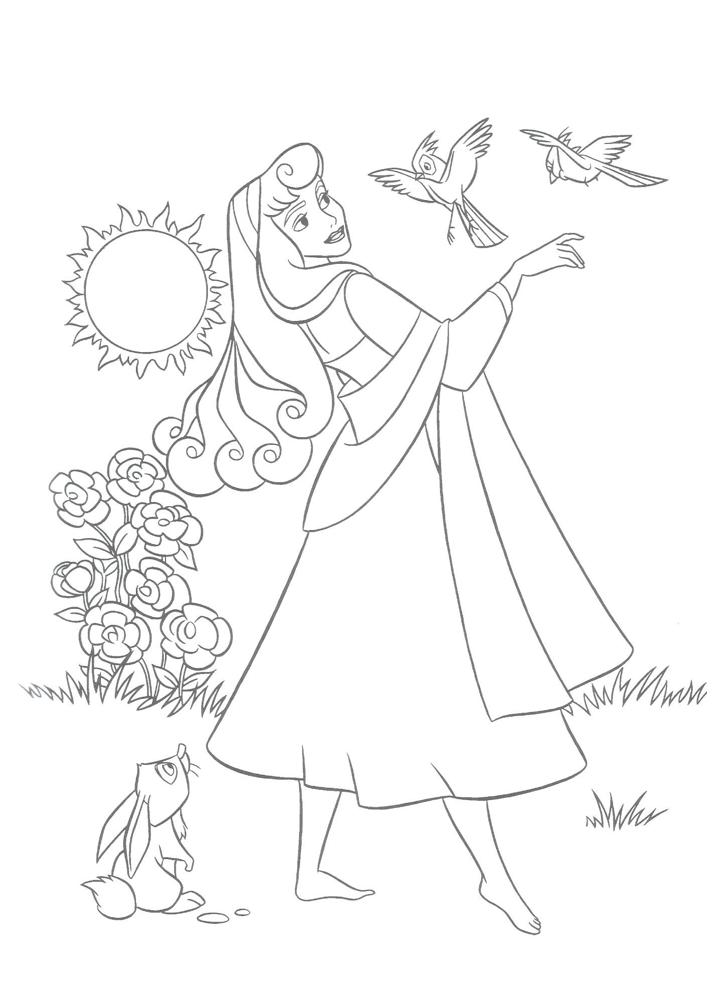 1409x2000 Inspiration Coloring Princess Coloring Page Sleeping Beauty Disney