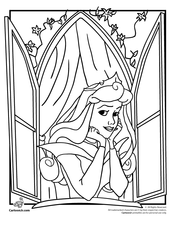 680x880 Princess Sleeping Beauty Coloring Pages Disney Princesses Coloring