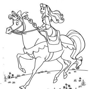 300x300 Best Sleeping Beauty Disney Coloring Pages Images