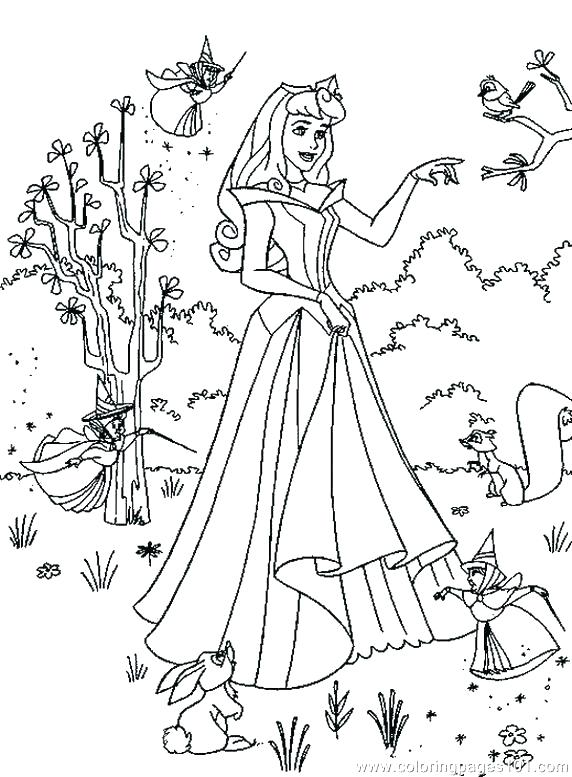 572x777 Coloring Pages Sleeping Beauty Sleeping Beauty Coloring Pages