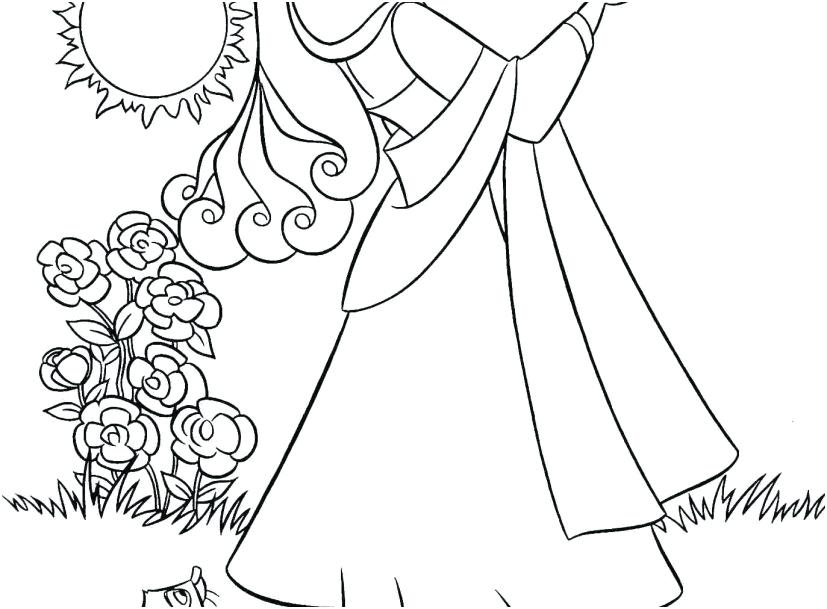 827x609 Disney Princess Aurora Coloring Pages Princess Coloring Pages