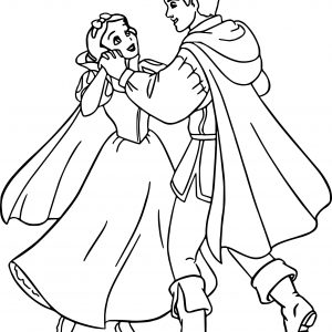 300x300 Disney Princess Coloring Pages Snow White And Prince Best