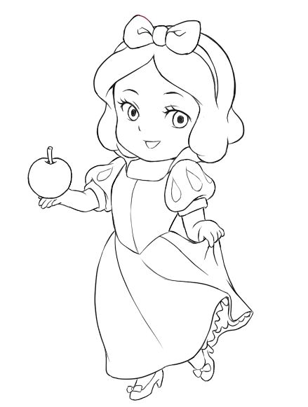 Disney Coloring Pages Snow White At Getdrawings Com Free For