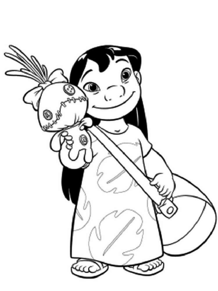 750x1000 Disney Coloring Pages Free Stitch And Lilo Dalmations Snow White