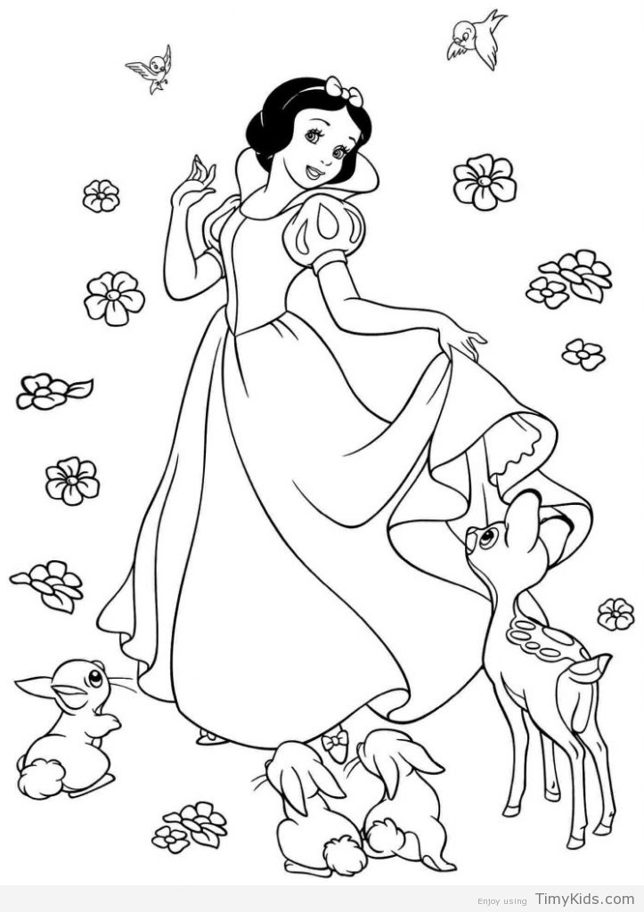 723x1024 White Coloring Pages Disney Princess Coloring Pages Snow White