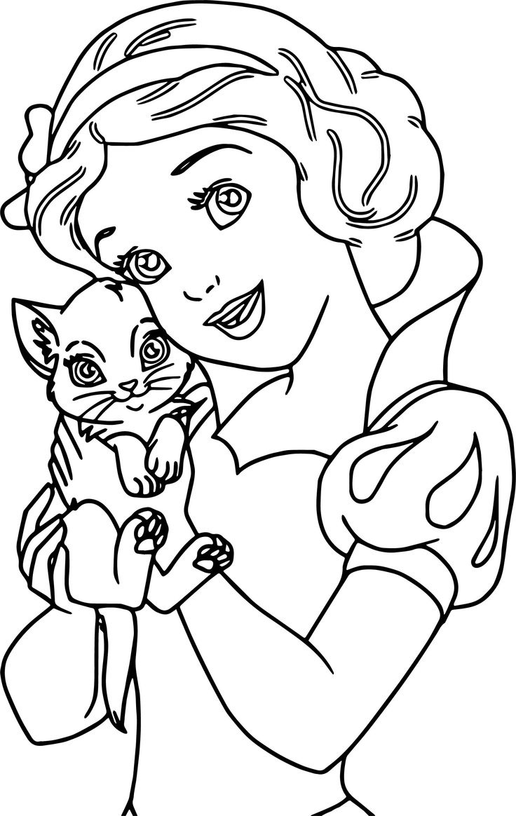 736x1164 Disney Coloring Pages Snow White Free Coloring Worksheets