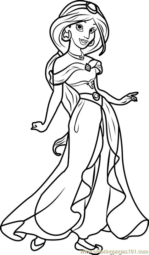 474x810 Disney Jasmine Coloring Pages Disney Couples Coloring Pages Pretty