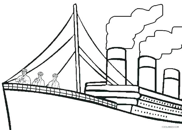 600x429 Cruise Ship Coloring Page Titanic Coloring Page Cruise Ship