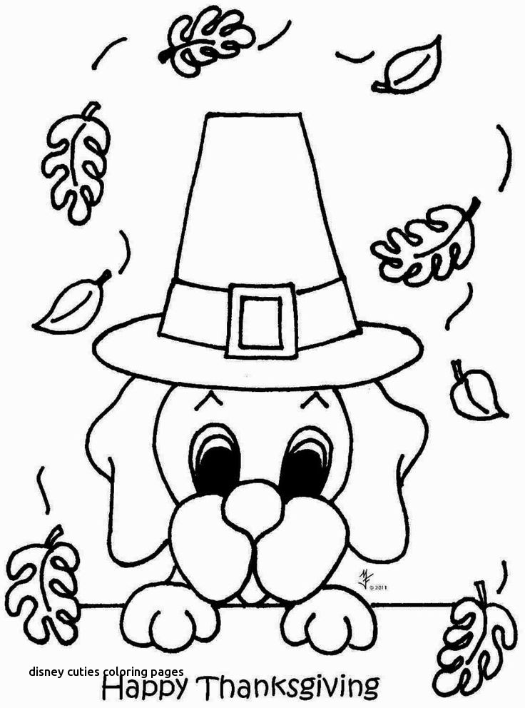 Disney Cuties Coloring Pages At Getdrawings Com Free For